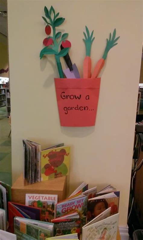 Display Book Garden 20 Sheet dig into reading garden display dig into reading ideas
