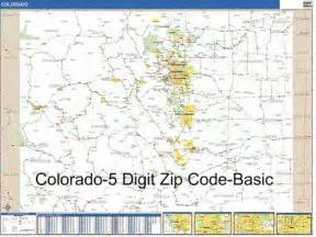 zip codes colorado map colorado zip code map my