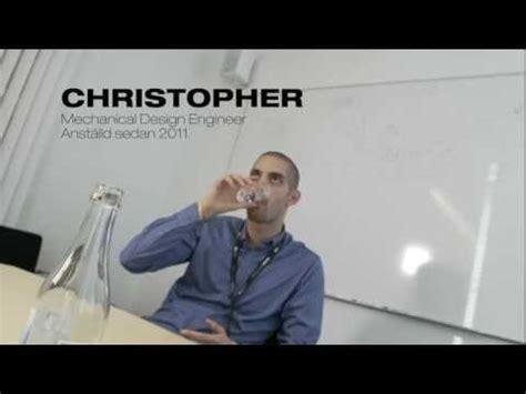 mechanical design engineer youtube interview with christopher mechanical design engineer