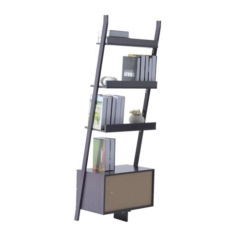 Leaning Ladder Shelf Plans Tips And Products Ladder Bookcase Plans