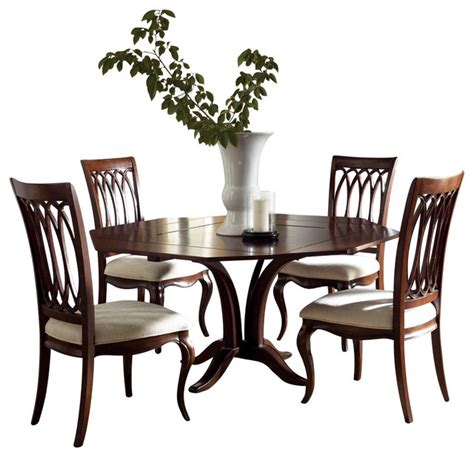 american drew cherry dining room set american drew cherry grove ng 5 piece square dining room