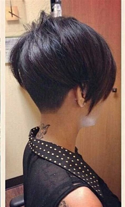 back of short asymetrical haircuts 14 very short hairstyles for women popular haircuts