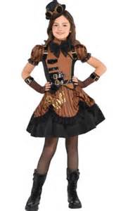 steampunk halloween costume party city girls steampunk costume party city