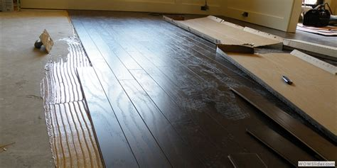 Engineered Flooring Installation Installing Laminate Flooring On Wood Subfloor Wood Floors