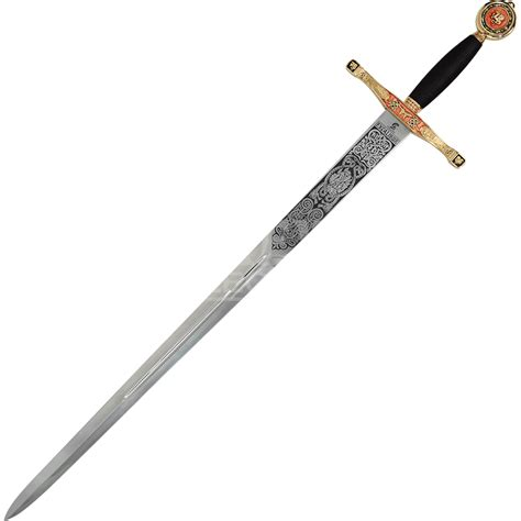 gold excalibur sword sg202 from collectables
