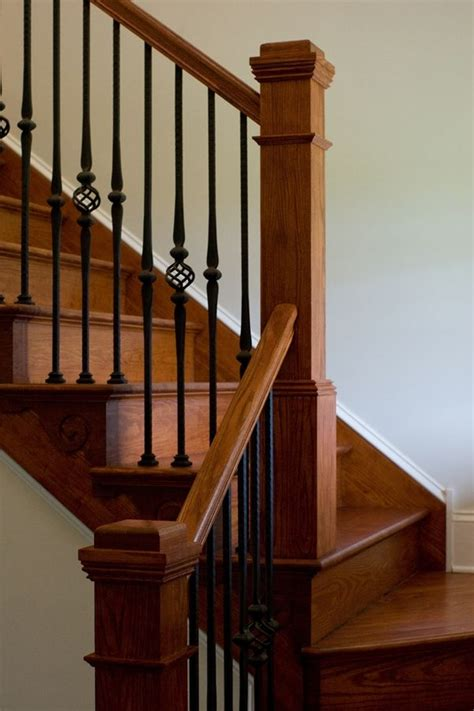 1000 Images About Iron Staircase On Wood