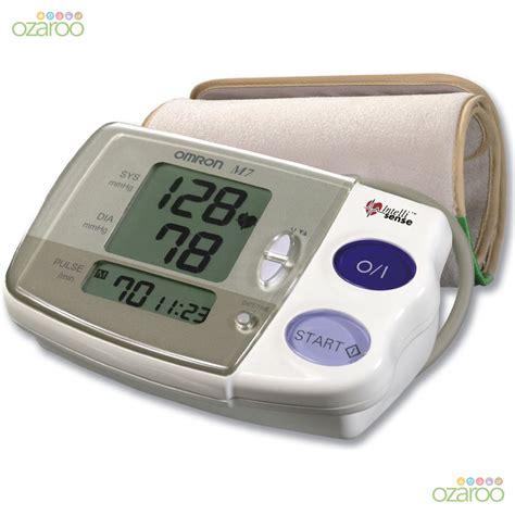 Blood Pressure Monitor Omron omron intellisense m7 arm hypertension blood pressure monitor comfort cuff ebay