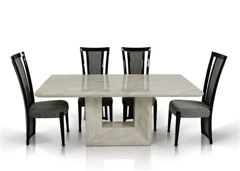 low dining room tables fancy rectangle low height marble dining table with high backrest black chair in set low dining