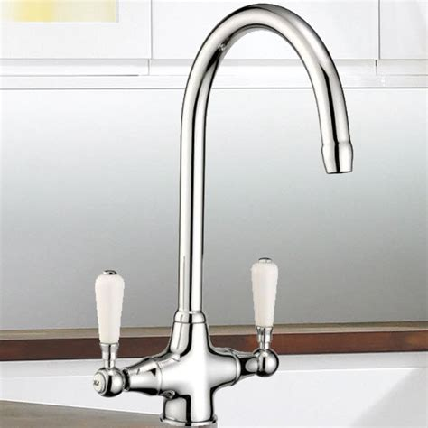 traditional kitchen mixer tap traditional ceramic lever swivel spout chrome