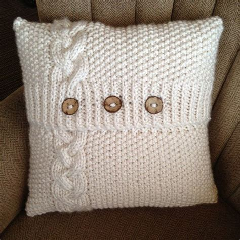 knitting pattern for cushion with buttons 25 unique knot pillow ideas on diy knitting