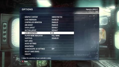 Bo Set Black 1 call of duty black ops optimal settings commentary