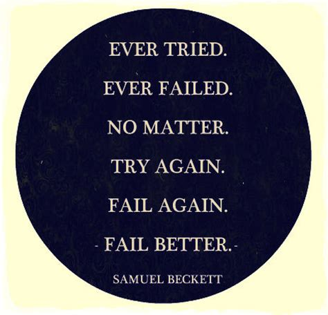 fail better try again quotes quotesgram