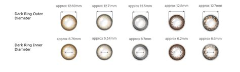 define color acuvue define colour contact lens 30pcs thin comfortable