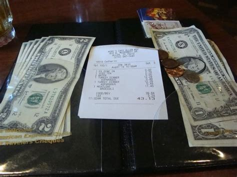 Mimiscafe Com Gift Cards - our check and our gift card plus cash payment picture of mimi s cafe allen