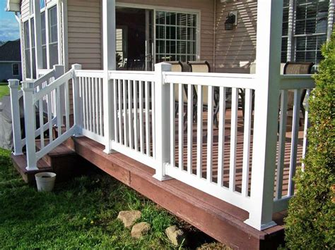wood porch railings sweet home ideas optional porch