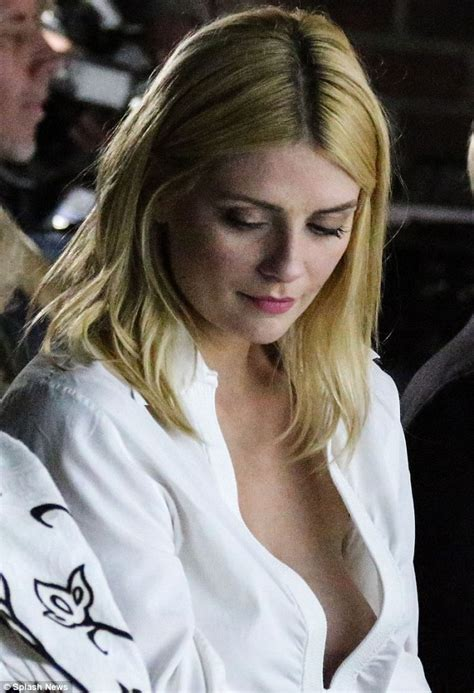 Mischa Barton Skirt See Through Top And Still Nothing by Martin Sheen Cops An Eyeful Of Braless Mischa Barton