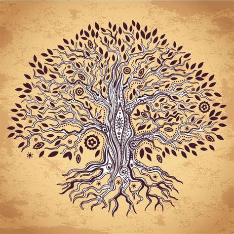 der weltenbaum im tropfen inana