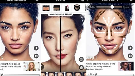 Sephora Makeup sephora s app update lets you try makeup on