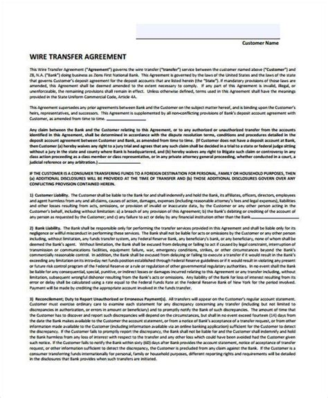 transfer agreement template free wonderful generic wire transfer form photos electrical
