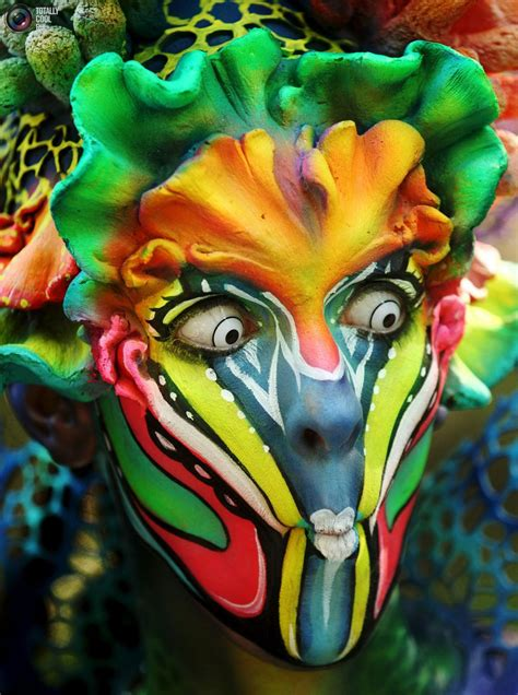 annual painting festival the world bodypainting festival 2015 totallycoolpix