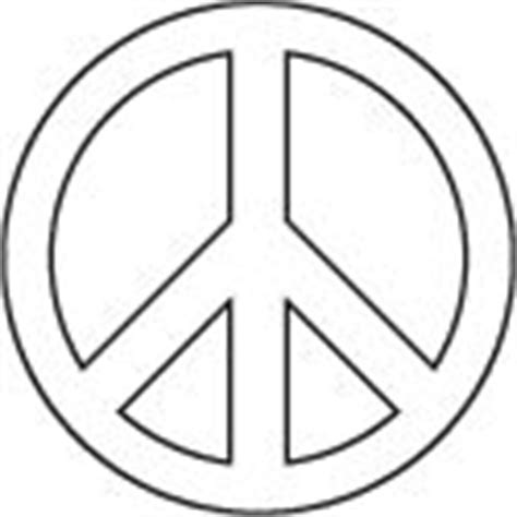 Printable Peace Sign Template Printable Templates Peace Sign Template