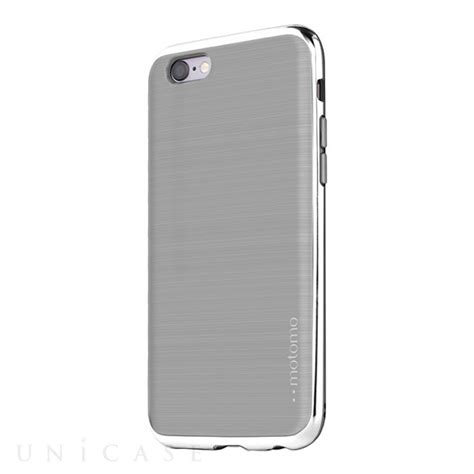 Motomo List Chrome Iphone 44g4scasesofttpusoftcaseslim iphone6s 6 ケース ino line infinity cool gray chrome silver motomo iphoneケースは unicase