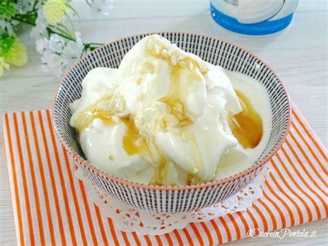 gelato allo yogurt fatto in casa gelato allo yogurt ricetta gelato allo yogurt il cuore
