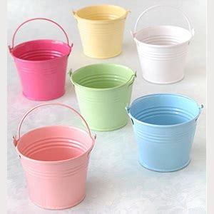 Pot Bunga Daiso s favors mini tin pail favors