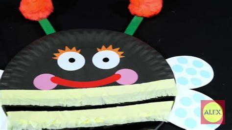 alex toys paper plate bugs craft kit 1415