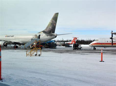 busy travel season grounds food shipments  nunavik