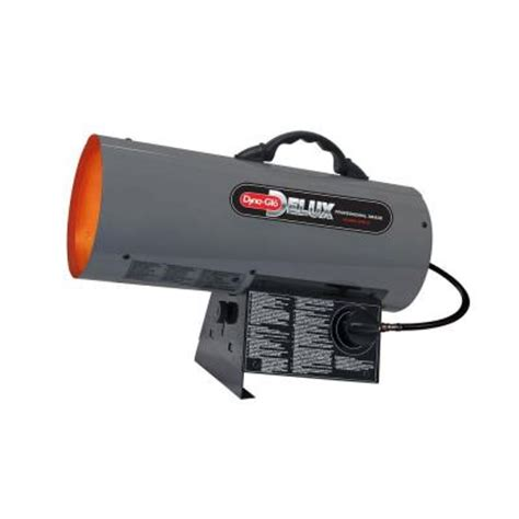 dyna glo delux 40k btu forced air propane portable heater
