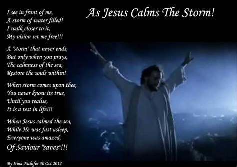 jesus poem god calms the quotes quotesgram