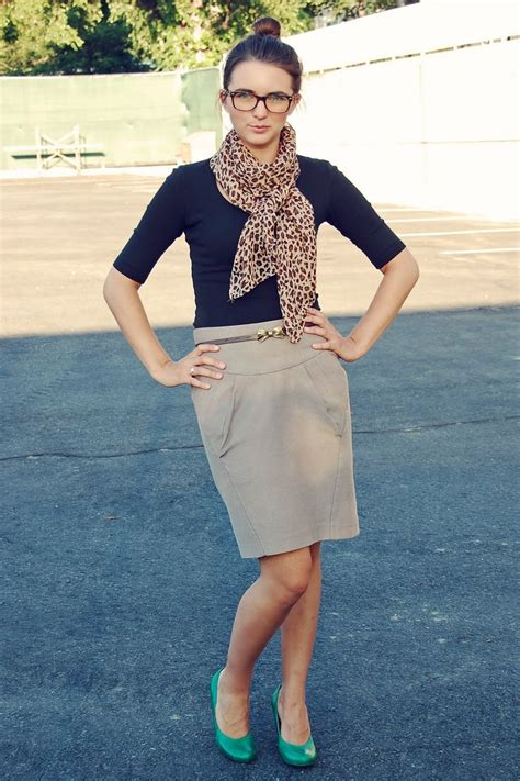 Khaki Leopard Casual Top 26839 1000 images about how to wear khaki skirt on