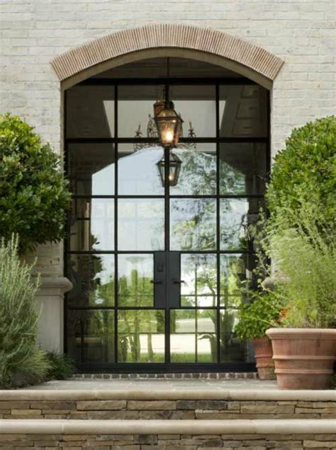 Who Doesn T Love A Beautiful Door Dana Wolter Steel Front Entry Doors With Glass
