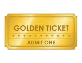 and ticket templates free printable golden ticket templates blank golden tickets