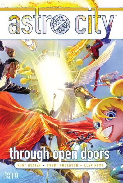 astro city vol 15 ordinary heroes books astro city through open doors vertigo dc the