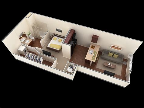 3 Bedroom Flat Plan Drawing 25 one bedroom house apartment plans