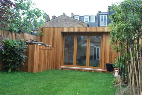Contemporary Garden Sheds Uk garden room wandsworth contemporary garden shed and