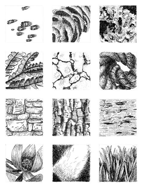 texture pattern sketch drawn texture easy art pencil and in color drawn texture