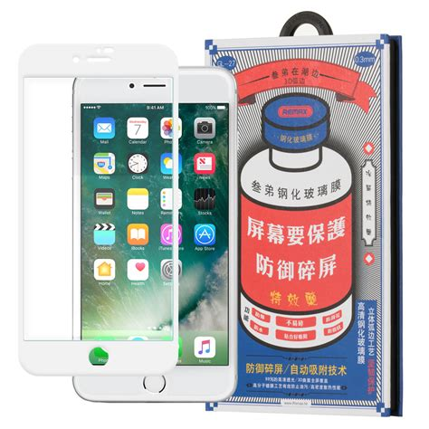 Remax Medicine Tempered Glass 3d For Iphone 7 Plus 8 Plus Putih remax medicine glass tempered glass screen protector