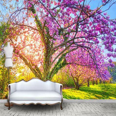 Full Wall Murals Cheap popular beautiful garden wallpapers buy cheap beautiful