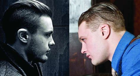 prohibition haircut back jimmy darmody haircut popularized slicked back undercut