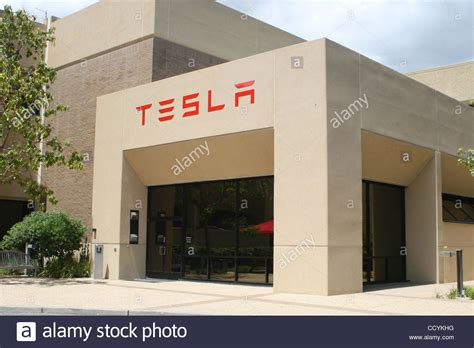 Tesla Motors Office May 28 2010 Palo Alto California Usa Worldwide