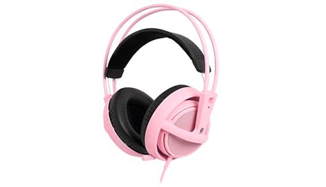 Headset Steelseries Siberia V2 White steelseries introduces pink siberia v2 headset for breast
