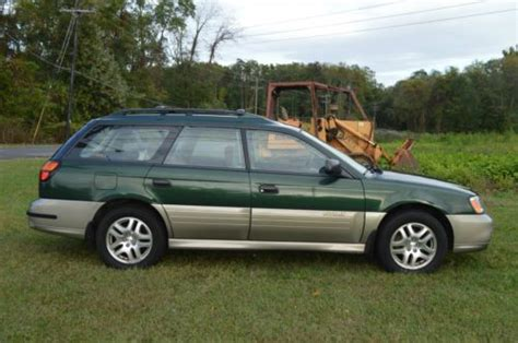 automobile air conditioning service 2002 subaru outback security system buy used 2002 green subaru legacy outback wagon awd 2 5l automatic 20 25mpg runs great in