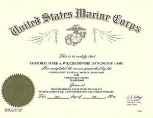 Certificate Of Commendation Usmc Template by Usmc Certificate Of Commendation Template Usmc