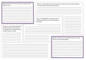 writing plan template story writing planning template by nahoughton uk