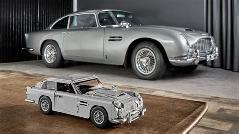 lego aston martin db5 license to build lego introduces goldfinger bond