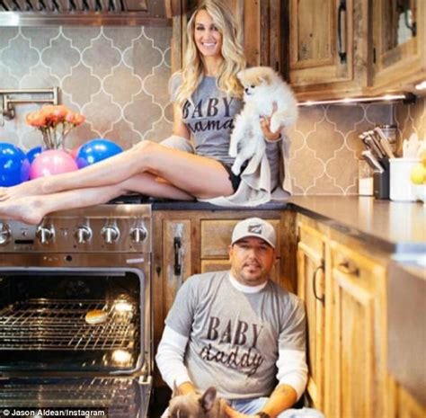 jason aldean gets a big surprise from wife brittany on jason aldean s wife brittany kerr is pregnant daily mail
