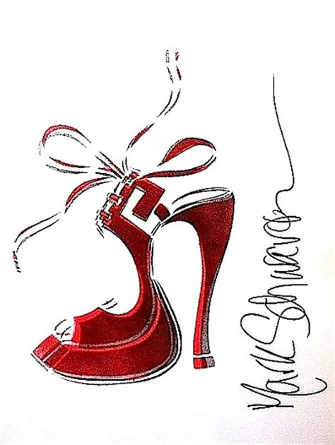 high heel shoe paintings high heel paintings by schwartz high heels daily